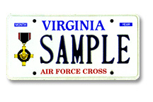 Air Force Cross Plate