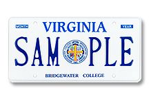 Bridgewater College Plate