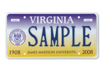 James Madison University Seal Plate