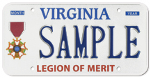 Legion of Merit Plate