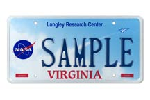 NASA Langley Research Center Plate