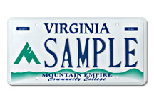 Mountain Empire Community Coll Plate