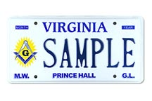 Most Worshipful Prince Hall Plate