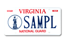 National Guard Plate