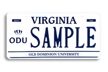 Old Dominion University Plate