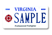 Professional Firefighter-Int'l Plate