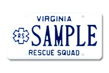 Rescue Squad Plate