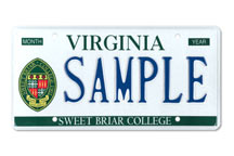 Sweet Briar College Plate