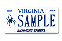 University of Richmond - Spider Plate