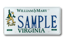 College of William & Mary - Athletic Plate
