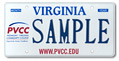 Piedmont Virginia Com College Plate