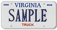 Truck (private or for-hire) Plate