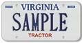 Tractor (Private or For Hire) Plate