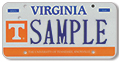 University of Tennessee Plate