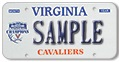 Univ of Virginia - 2019 National Champions Plate
