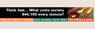 Think fast... What costs society $44,193 every minute?