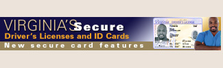 Virginias Secure Drivers Licenses and ID Cards - New secure card features