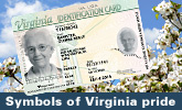 Virginias Secure Drivers Licenses and ID Cards - Symbols of Virginia pride