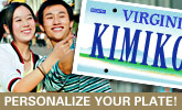 Personalize your plate!