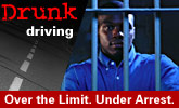 Drunk Driving. Over the Limit. Under Arrest.