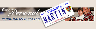 Get Personal! Personalized plates.