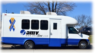 DMV 2 Go Mini-Mo mobile unit