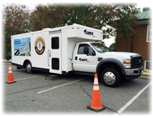 DMV 2 Go Richmond mobile unit