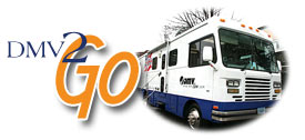 Go to DMV 2 go mobile service center page