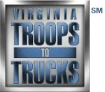 Troops to Trucks logo