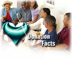 Saving lives through organ and tissue donation.