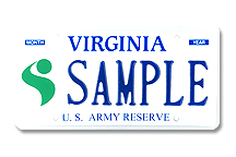 Army Reserve Plate