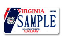 Coast Guard Auxiliary Plate
