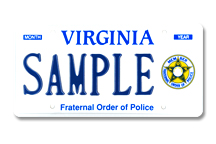Fraternal Order of Police Plate