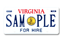Great Seal For Hire Plate