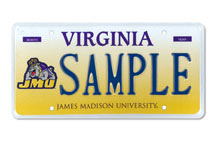 James Madison Univ. Athletic Plate