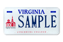 Lynchburg College Plate
