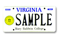 Mary Baldwin College Plate