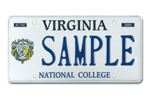 National College Plate