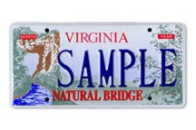 Natural Bridge Plate