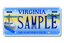 Northern Neck Plate