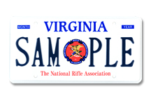 National Rifle Association Plate