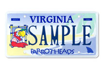 Parrotheads Plate
