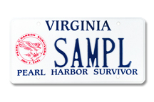Pearl Harbor Survivor Plate