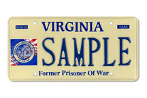 Former Prisoner of War Plate