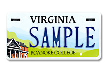 Roanoke College Plate