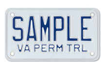 Trailer-Small Permanent Plate