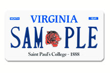 Saint Paul's College Plate