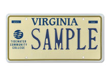 Tidewater Community College Plate