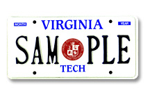 Virginia Tech - School Seal Plate