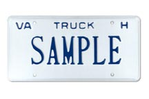 Truck For Hire Plate